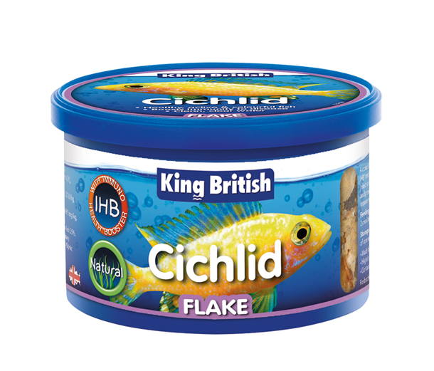 Cichlid flake food